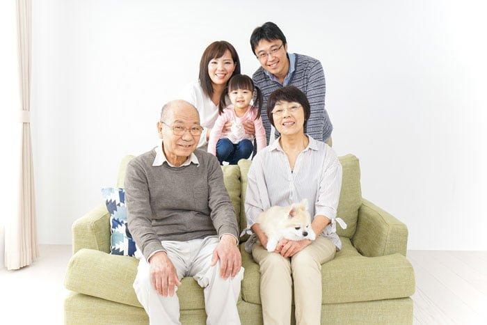 両親と同居