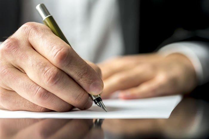 委任状の書き方